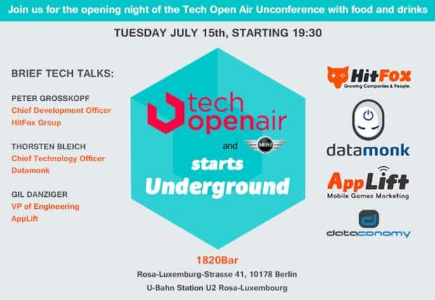 Tech Open Air Tech Open Bar