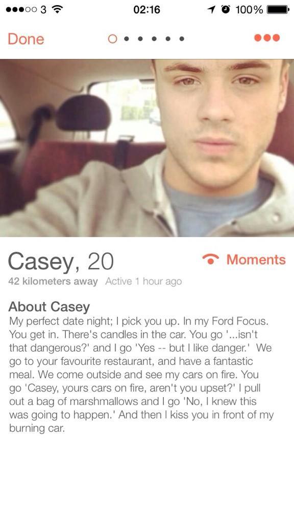gay tinder profile bio