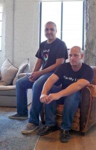 Founders: CTO Roi Avinoam on the left, CEO Yaniv Leven on the right.