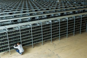 KnCMiner's sophisticated bitcoin operation.