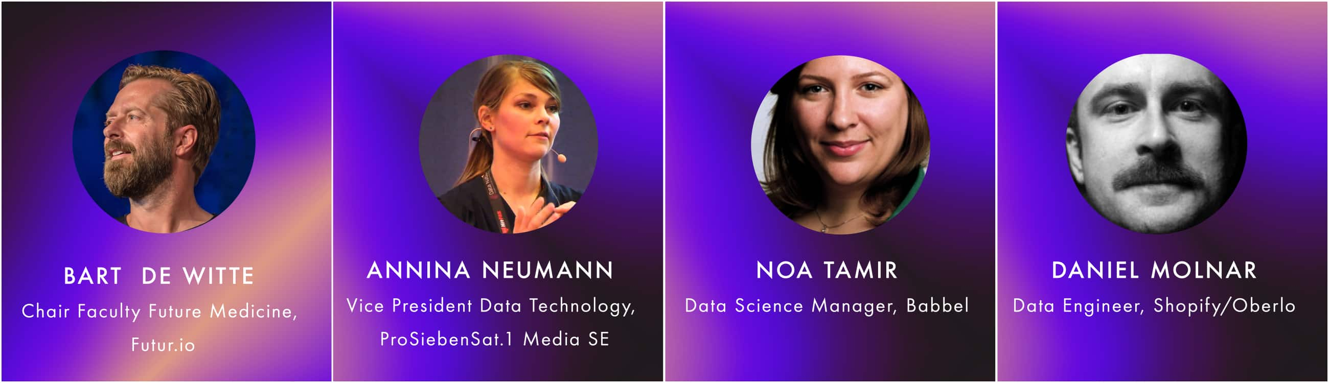 First Speakers Announced for Data Natives 2018, The Tech