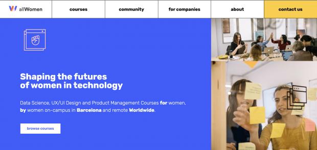 allwomen website